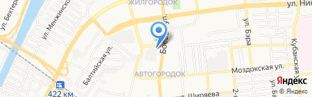 В ловушке на карте Астрахани