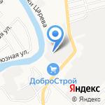 ДПД на карте Астрахани