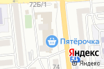 Схема проезда до компании Пион в Астрахани