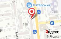 Схема проезда до компании АЛОЭ ВЕРА в Астрахани