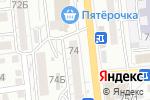 Схема проезда до компании На Ногти в Астрахани