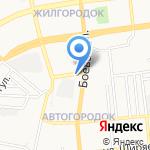 Рыбный магазин на карте Астрахани