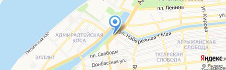 Банкомат Сбербанк России на карте Астрахани