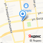 Zenden на карте Астрахани
