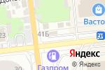 Схема проезда до компании Цветочный рай в Астрахани