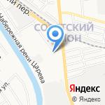 Центр информационно-финансовой поддержки субъектов малого и среднего бизнеса на карте Астрахани