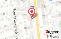 Схема проезда до компании Магазин-ателье в Астрахани