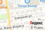Схема проезда до компании Балу в Астрахани