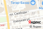 Схема проезда до компании Оазис в Астрахани