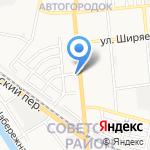 Аптека №90 на карте Астрахани