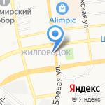 Тураш на карте Астрахани