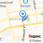 Жемчуг на карте Астрахани