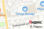 Схема проезда до компании Магазин одноразовой посуды в Астрахани