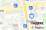 Схема проезда до компании Bliss в Астрахани