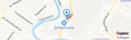 Астра-Камень на карте Астрахани