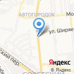Сеть мастерских на карте Астрахани