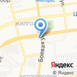 Ровер на карте Астрахани