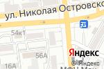 Схема проезда до компании Ираида в Астрахани