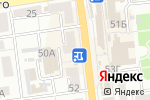 Схема проезда до компании Волга оптика в Астрахани