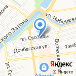 Салон штор на карте Астрахани