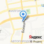 Вирсавия на карте Астрахани
