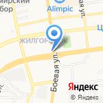 Абсолем на карте Астрахани