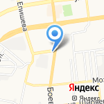 Кук-си Каби на карте Астрахани