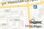 Схема проезда до компании Ровер в Астрахани