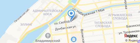 СуперДом на карте Астрахани