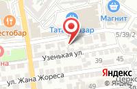 Схема проезда до компании СуперДом в Астрахани