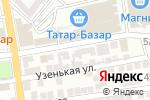 Схема проезда до компании Салон штор в Астрахани