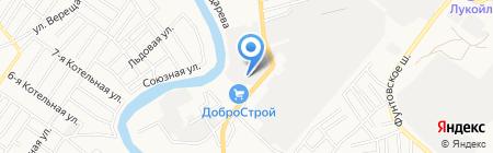 Карина на карте Астрахани