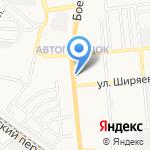Евросеть на карте Астрахани