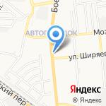 ЮгФинанс на карте Астрахани