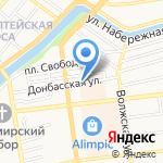 Альмаидат на карте Астрахани