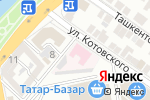 Схема проезда до компании Центр медицинской профилактики в Астрахани