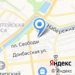 Татар-Базар на карте Астрахани