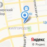 Билайн на карте Астрахани