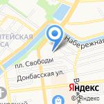 Минутка на карте Астрахани