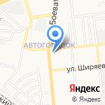 Астраханская казачья артель на карте Астрахани
