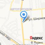 Киоск по продаже печатной продукции на карте Астрахани