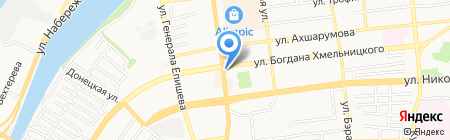 Цветы надежды на карте Астрахани