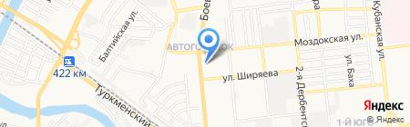 Стоматологическая поликлиника №1 на карте Астрахани