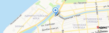MEGAОПТИКА на карте Астрахани