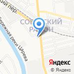 Подъяпольский П.Г. на карте Астрахани