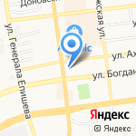 Городская поликлиника №3 на карте Астрахани