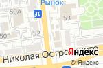 Схема проезда до компании Волгател.рф в Астрахани