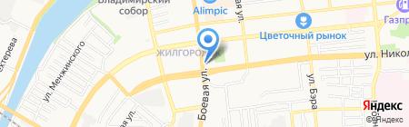 Миндаль 2 на карте Астрахани