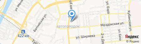 Pay.Travel на карте Астрахани