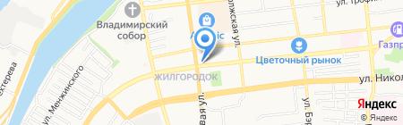 Здоровый сон на карте Астрахани